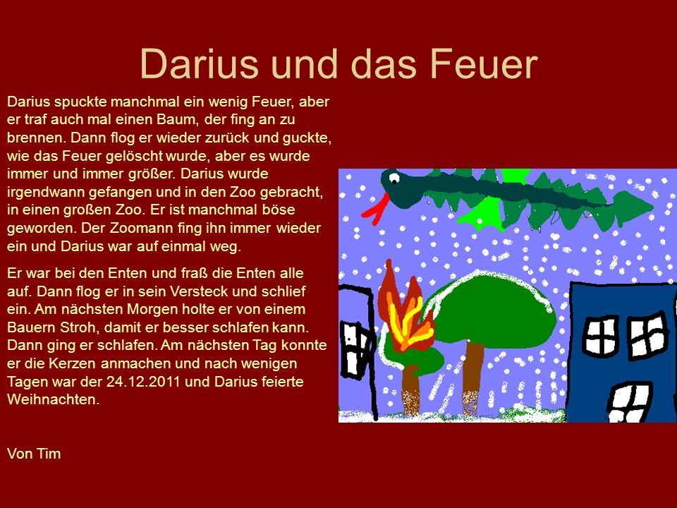 Darius und das Feuer