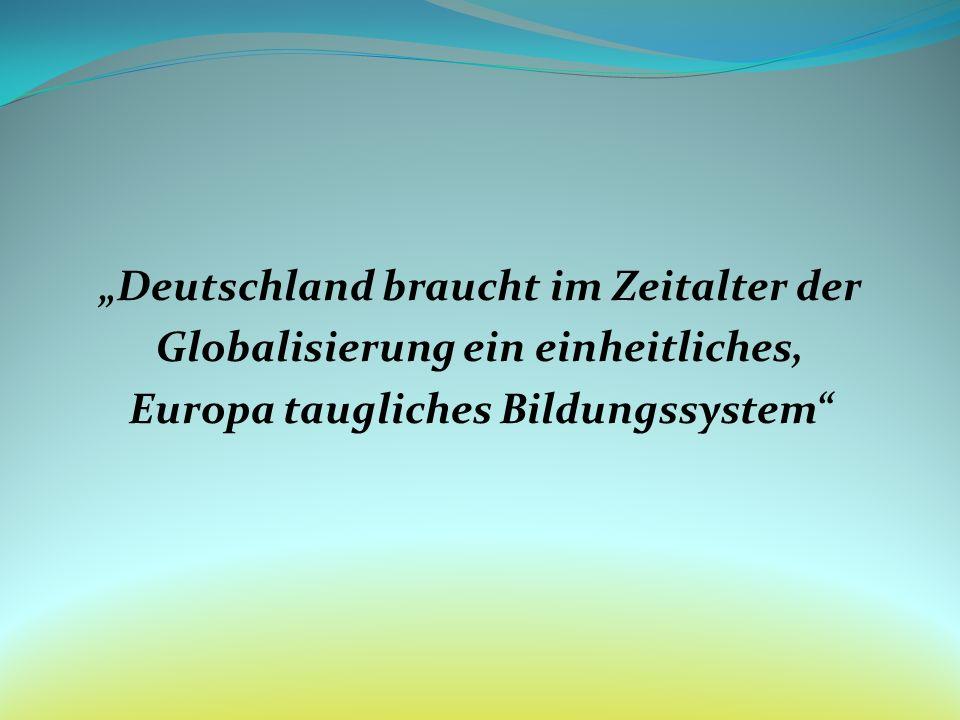 """""""Deutschland braucht im Zeitalter der"""