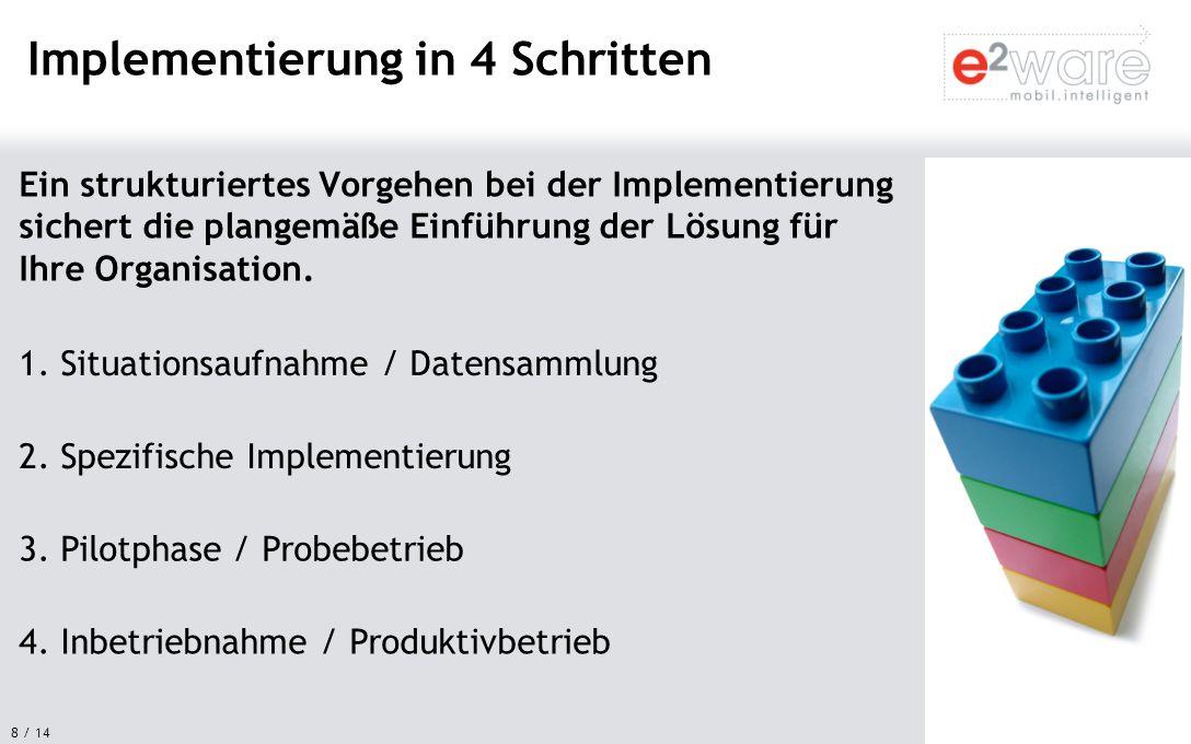 Implementierung in 4 Schritten