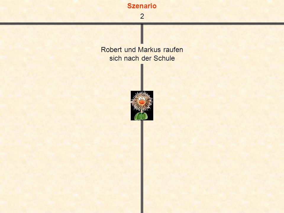 Robert und Markus raufen