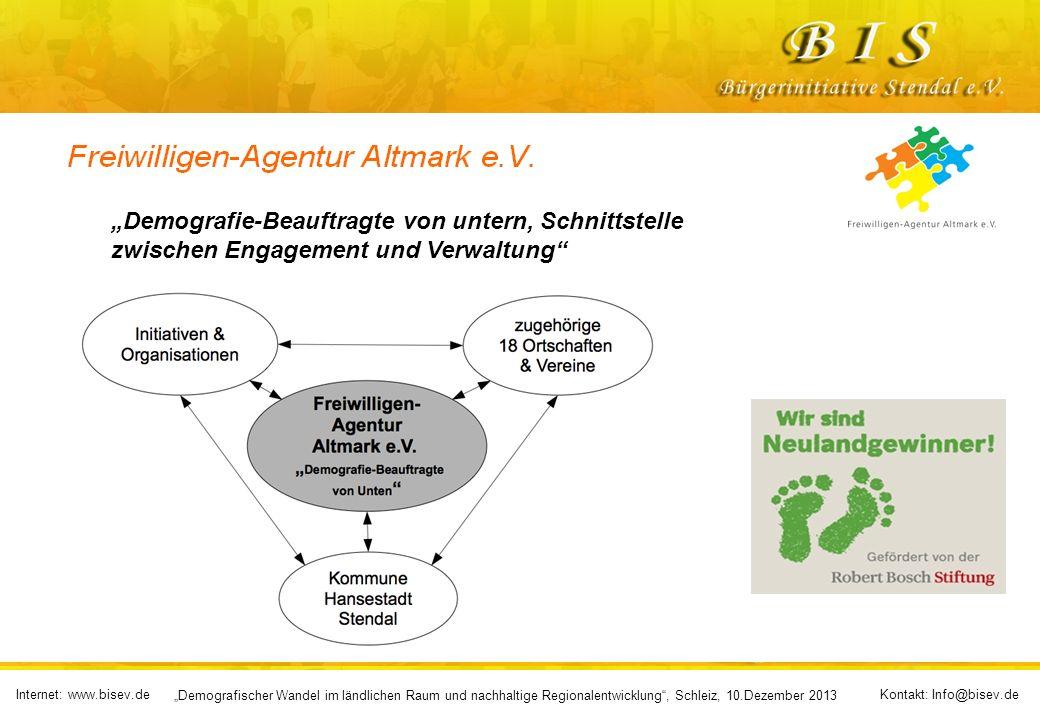 """""""Demografie-Beauftragte von untern, Schnittstelle zwischen Engagement und Verwaltung"""