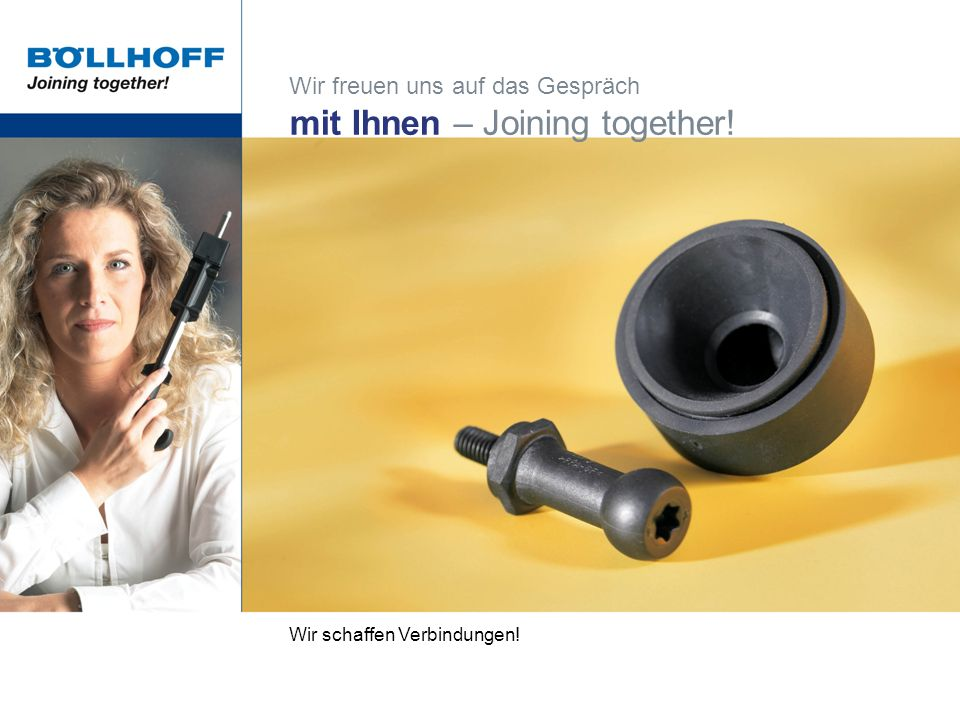 mit Ihnen – Joining together!