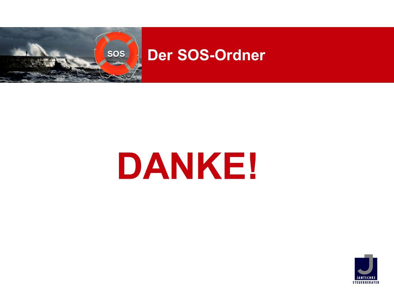 Der SOS-Ordner DANKE!