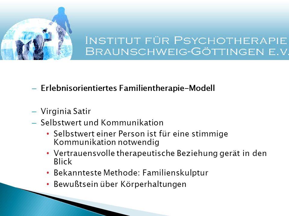 Erlebnisorientiertes Familientherapie-Modell