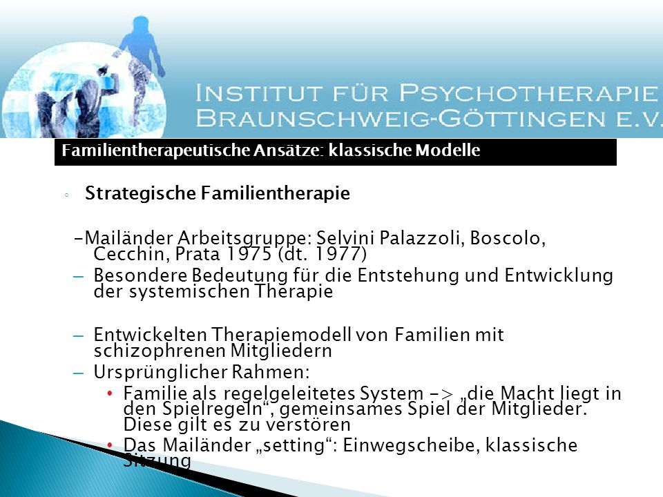 Strategische Familientherapie