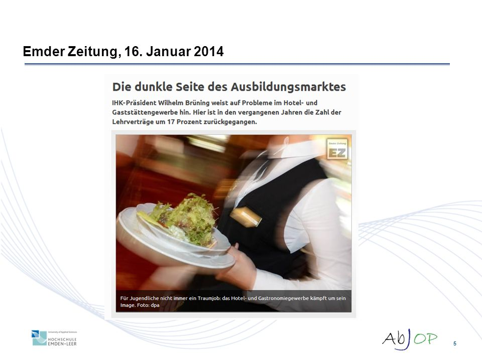 Emder Zeitung, 16. Januar 2014