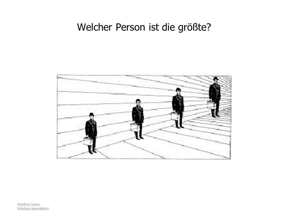 Welcher Person ist die größte