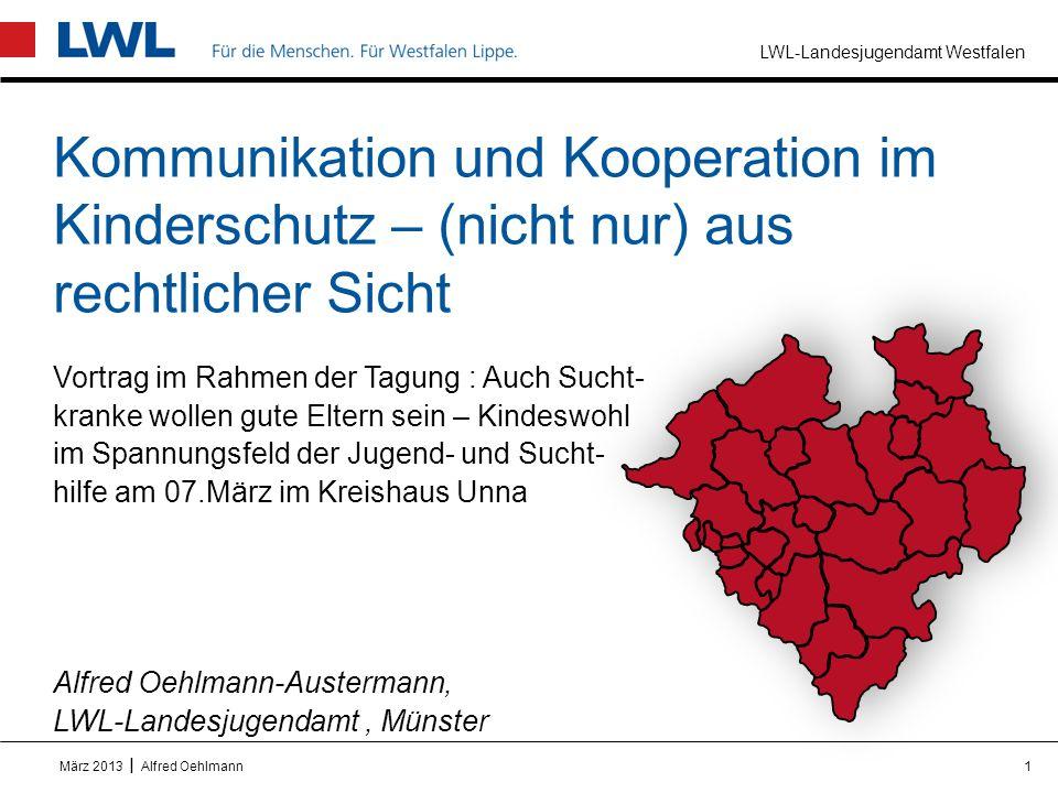 Kommunikation und Kooperation im Kinderschutz – (nicht nur) aus rechtlicher Sicht