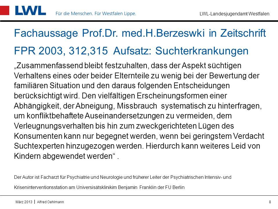 Fachaussage Prof. Dr. med. H