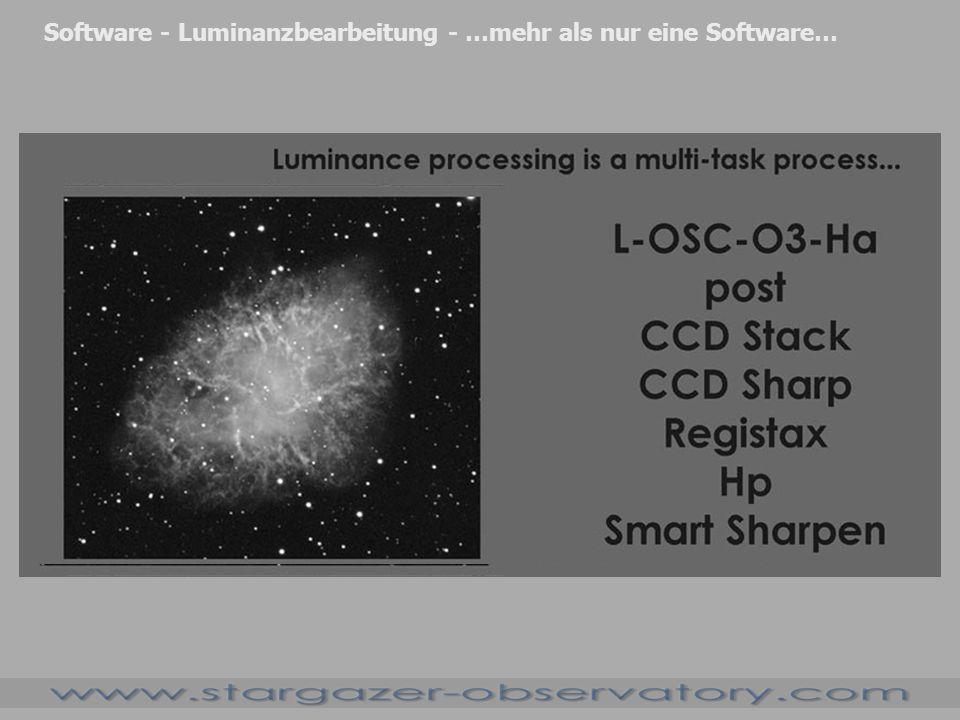 Software - Luminanzbearbeitung - …mehr als nur eine Software…