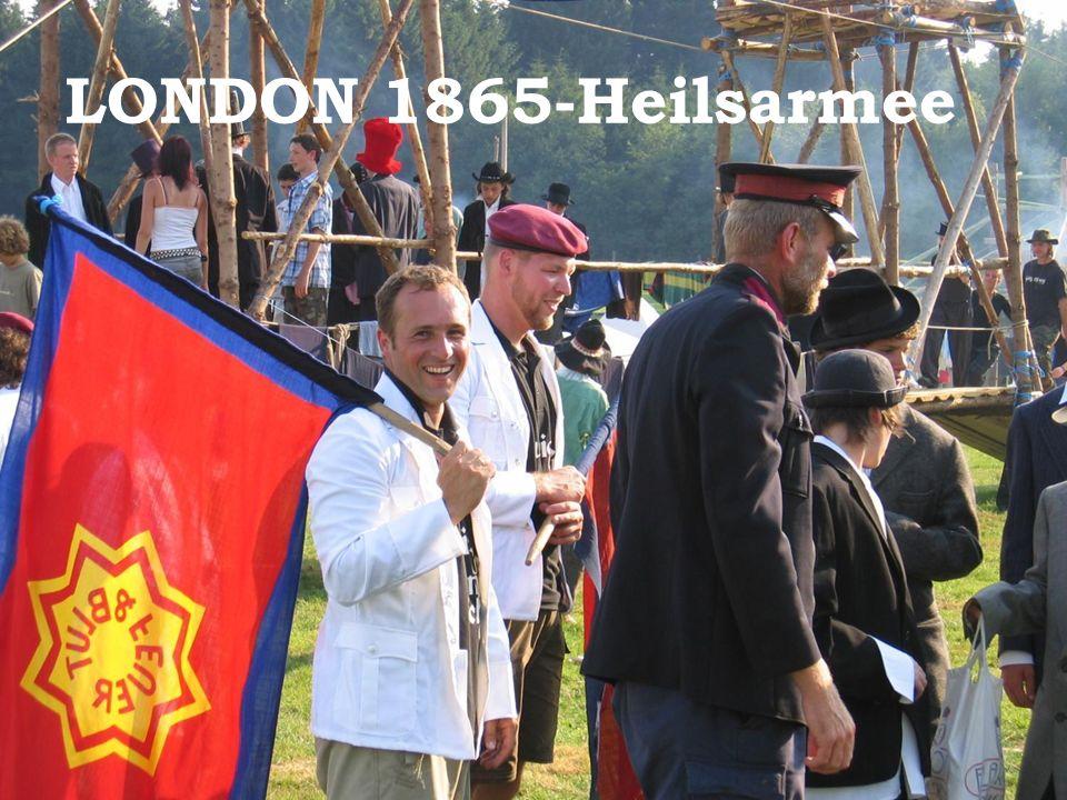 LONDON 1865-Heilsarmee