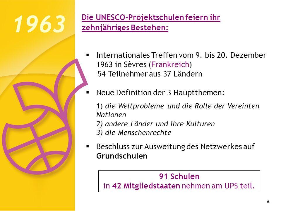Die UNESCO-Projektschulen feiern ihr zehnjähriges Bestehen: