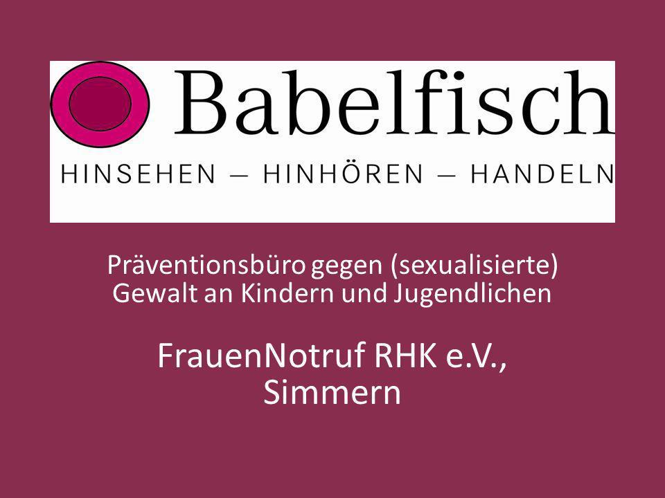 FrauenNotruf RHK e.V., Simmern