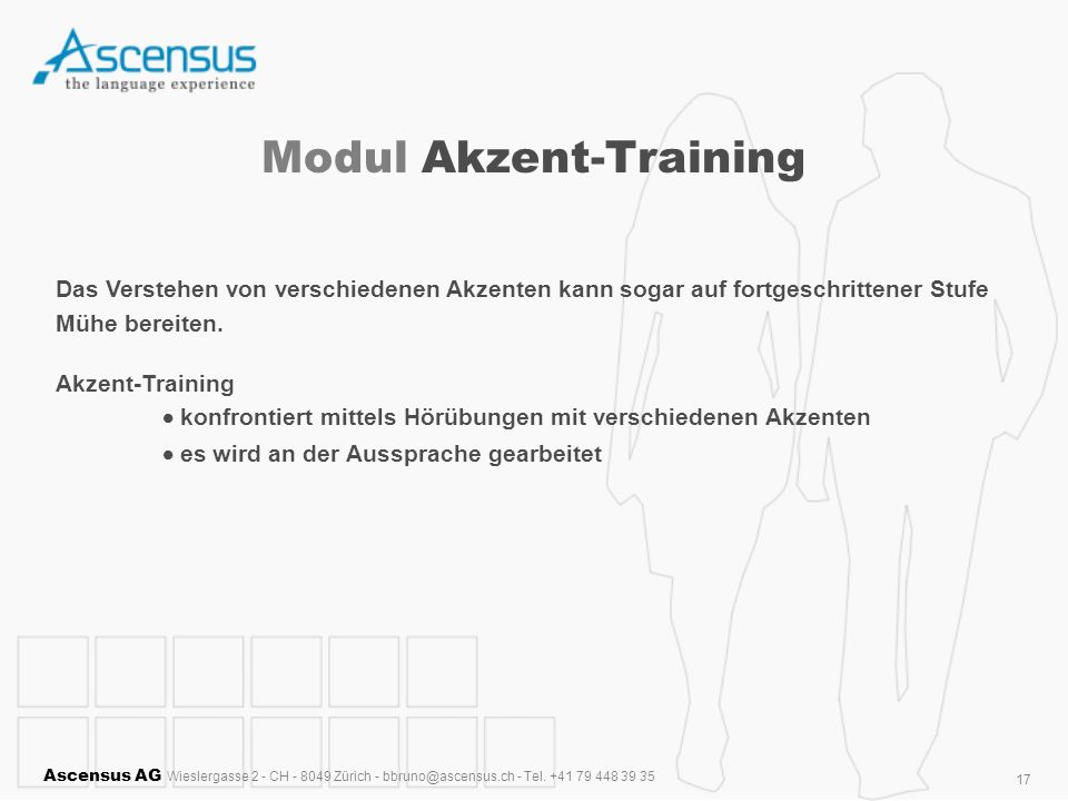 Modul Akzent-Training