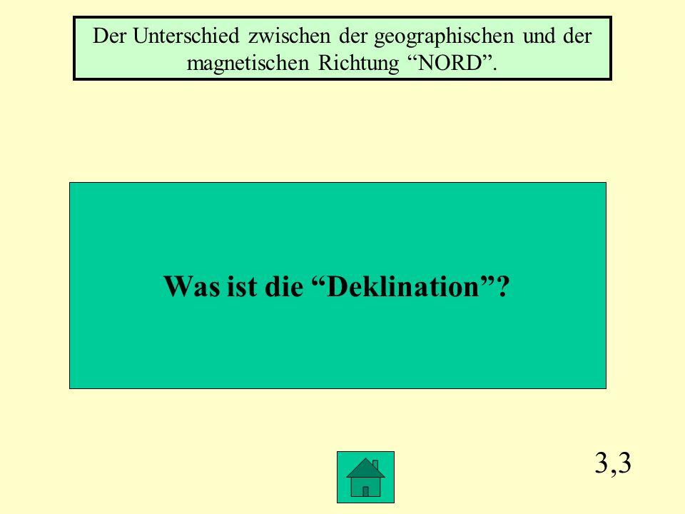 Was ist die Deklination