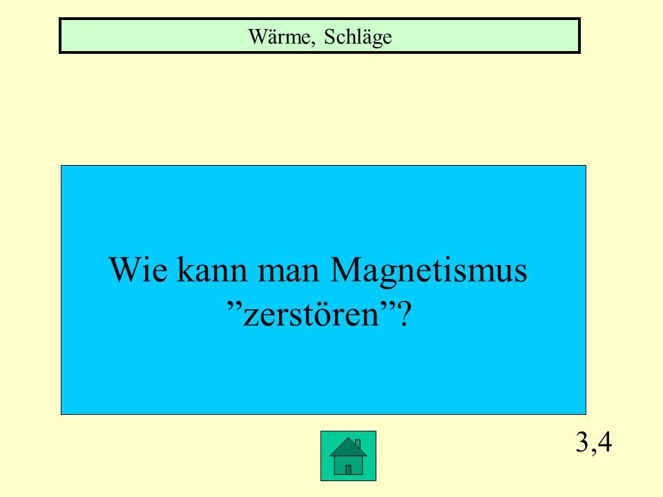 Wie kann man Magnetismus
