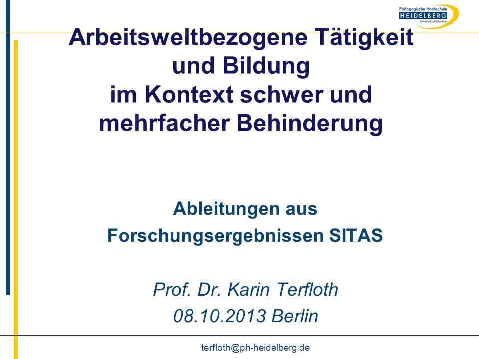 Forschungsergebnissen SITAS