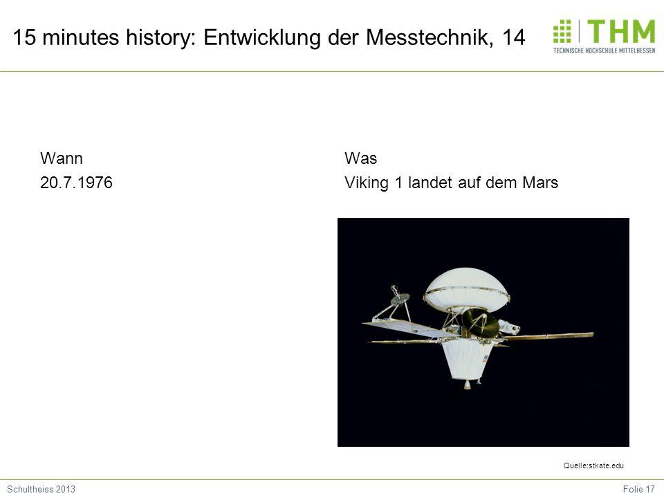 Was Viking 1 landet auf dem Mars