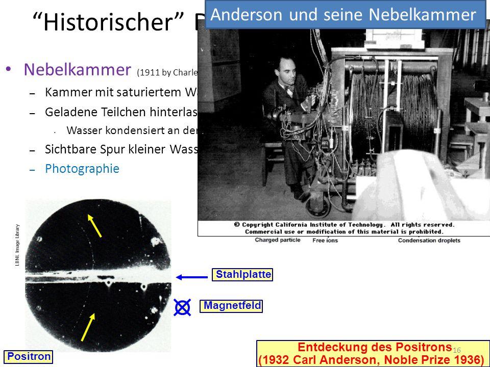 Historischer Detektor: Nebelkammer