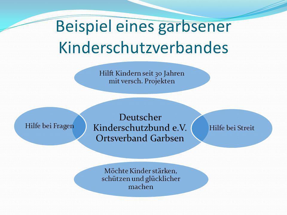 Beispiel eines garbsener Kinderschutzverbandes