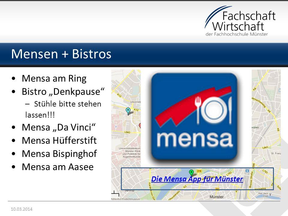 Die Mensa App für Münster