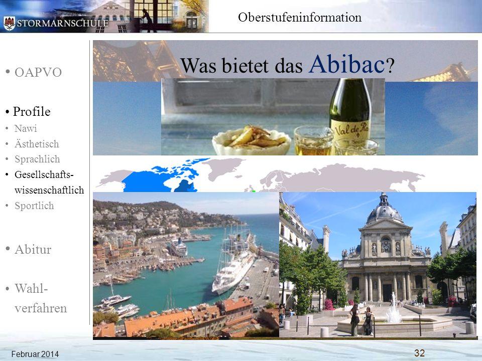 Was bietet das Abibac Vertiefung der französischen Sprachkenntnisse