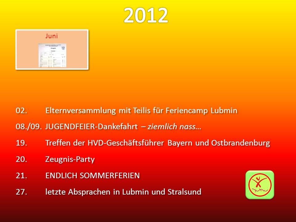 2012 02. Elternversammlung mit Teilis für Feriencamp Lubmin