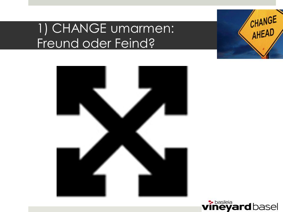 1) CHANGE umarmen: Freund oder Feind
