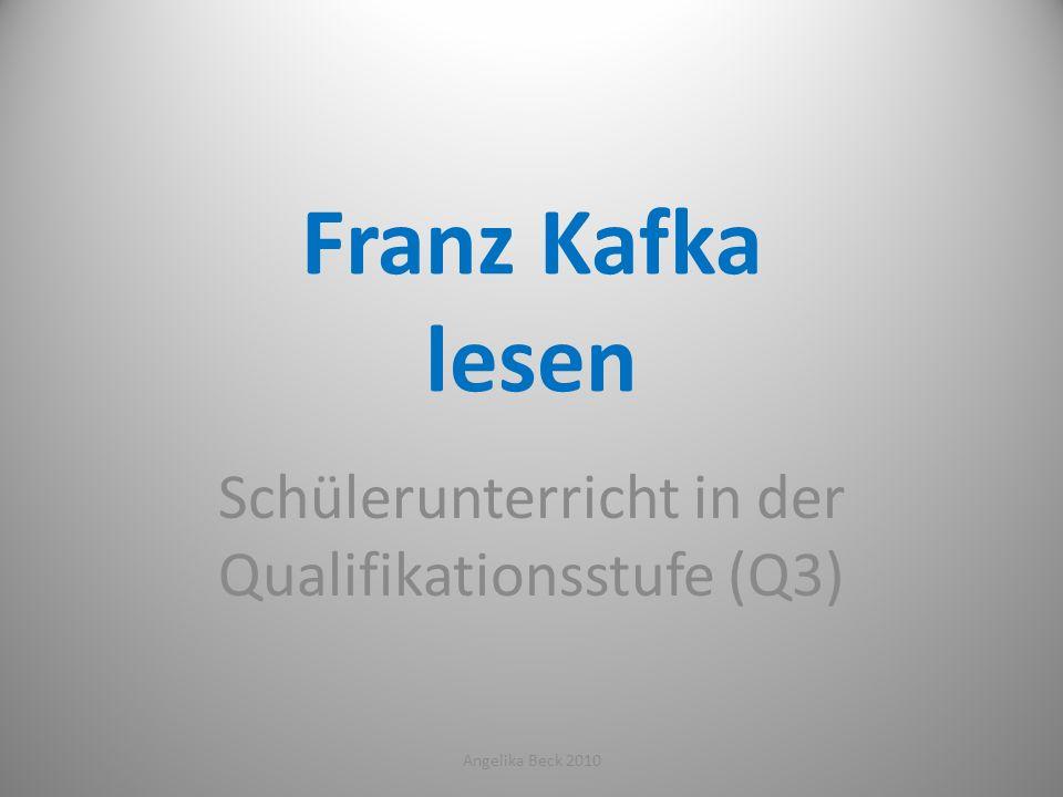 Schülerunterricht in der Qualifikationsstufe (Q3)