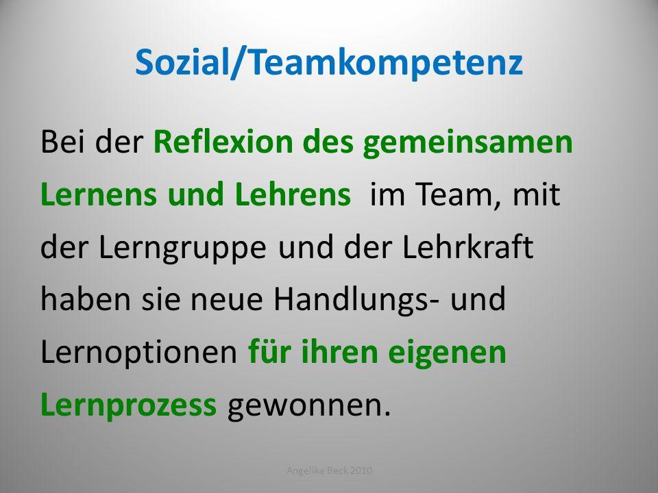Sozial/Teamkompetenz