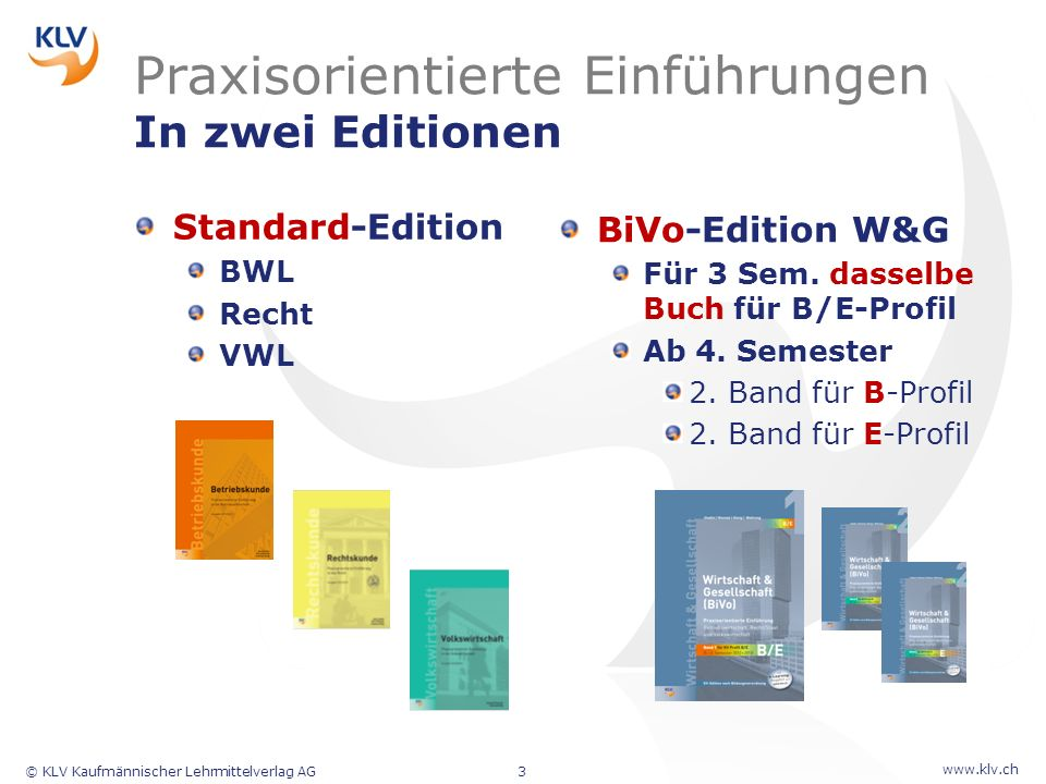 Praxisorientierte Einführungen In zwei Editionen