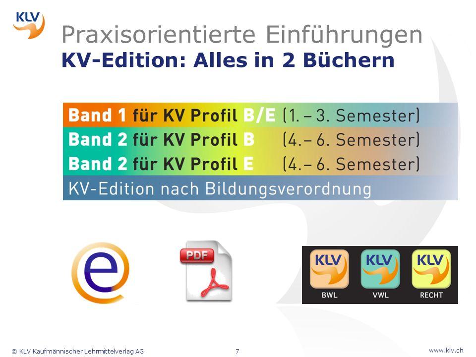 Praxisorientierte Einführungen KV-Edition: Alles in 2 Büchern