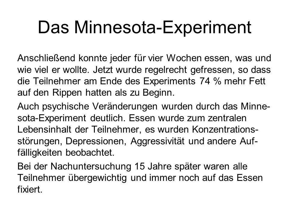 Das Minnesota-Experiment