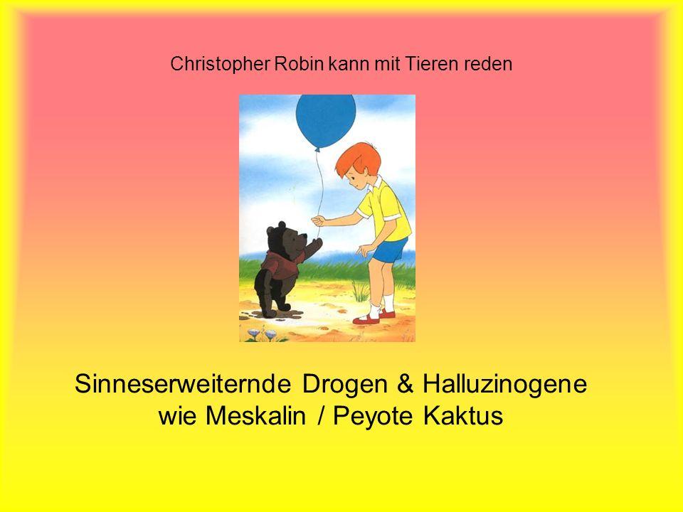 Christopher Robin kann mit Tieren reden
