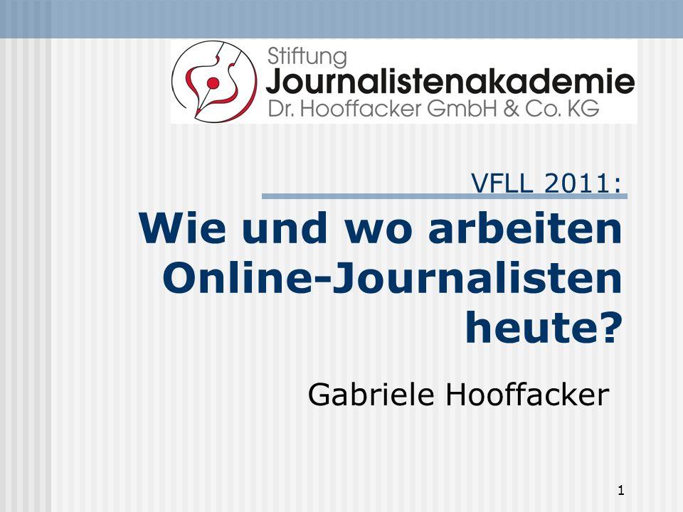 VFLL 2011: Wie und wo arbeiten Online-Journalisten heute