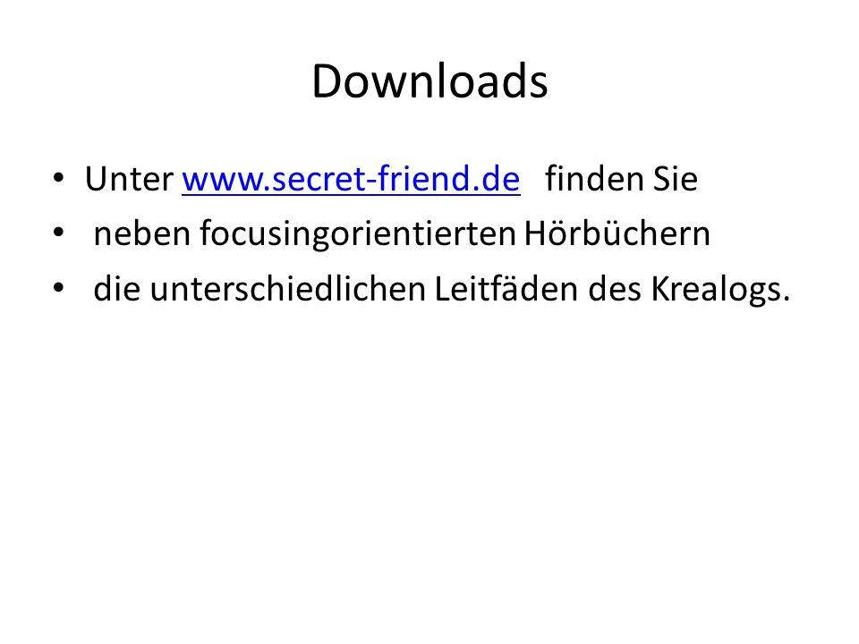 Downloads Unter www.secret-friend.de finden Sie