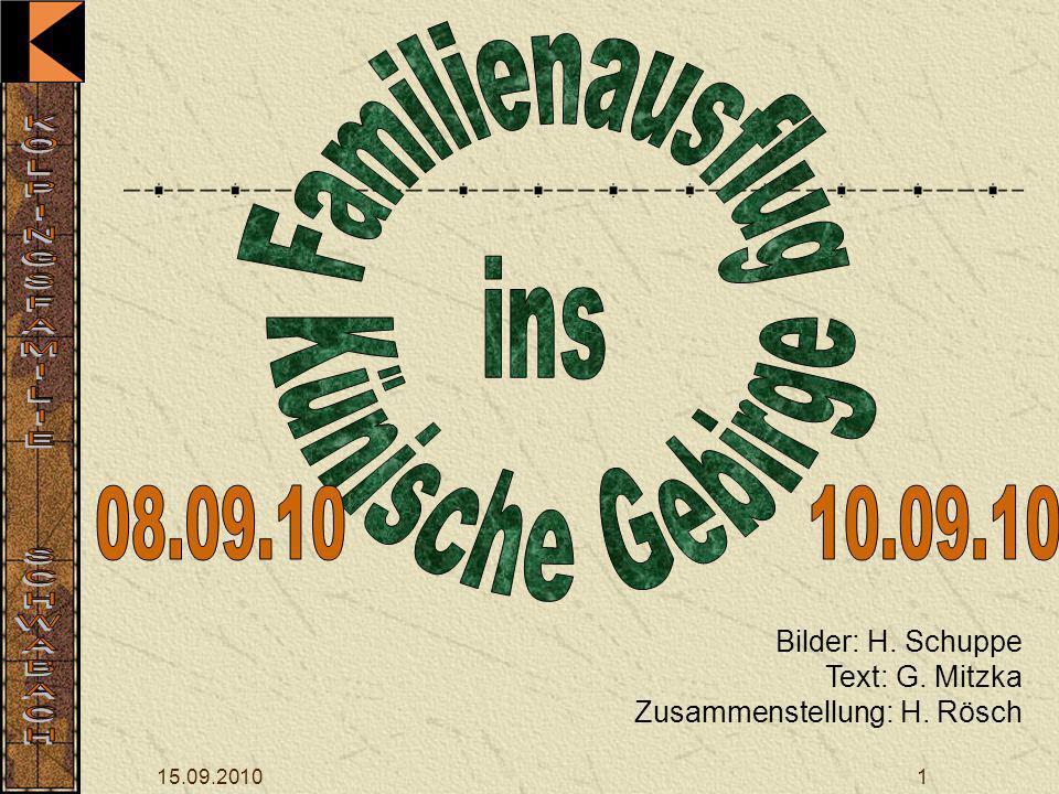 08.09.10 10.09.10 Familienausflug ins Künische Gebirge