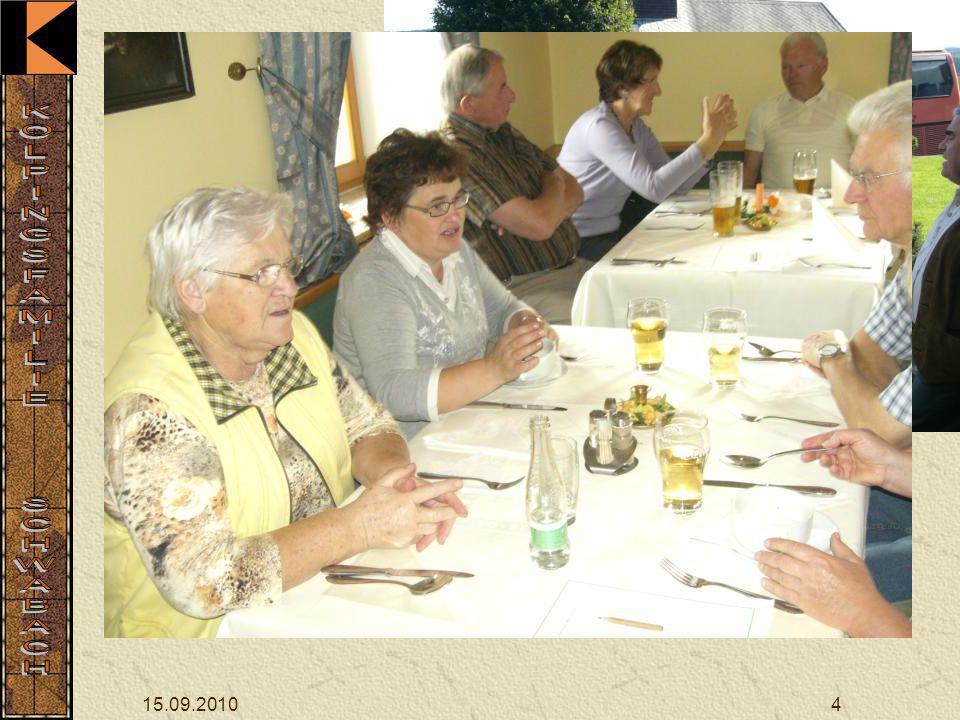 Gegen 11 Uhr erreichte die Gruppe Hammern, um 12 Uhr wurde das Mittagessen eingenommen.