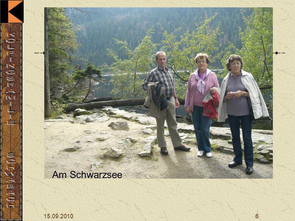 Am Schwarzsee 15.09.2010