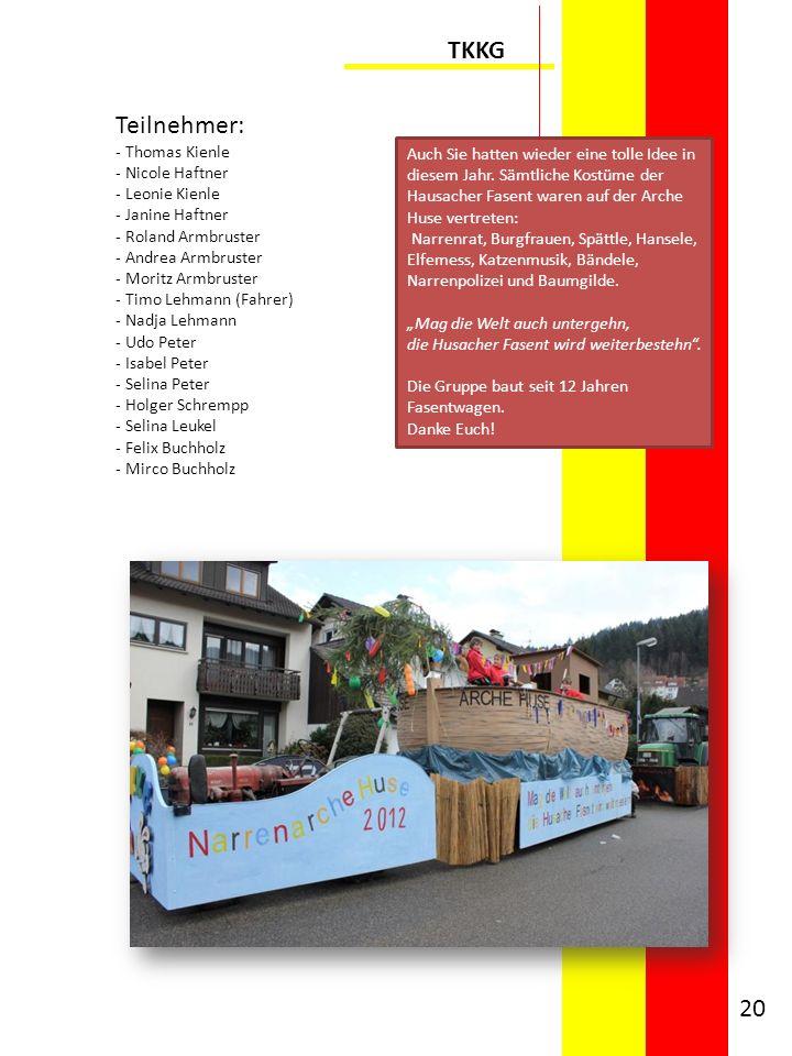 TKKG Teilnehmer: Thomas Kienle Nicole Haftner