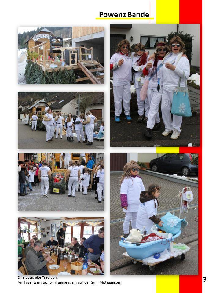 Powenz Bande Eine gute, alte Tradition: