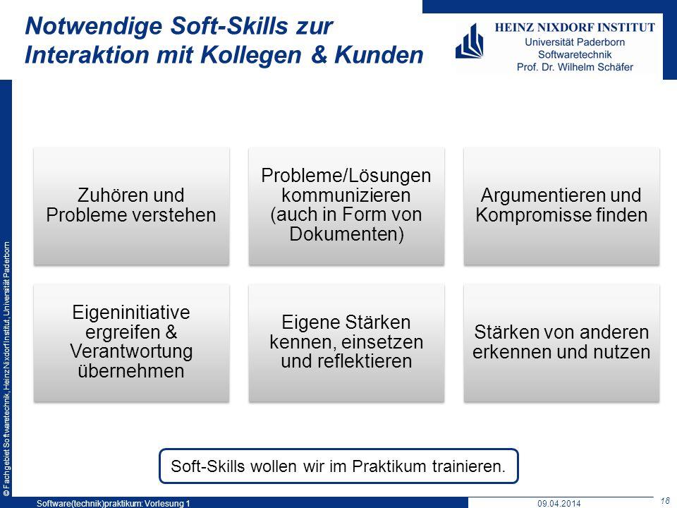 Notwendige Soft-Skills zur Interaktion mit Kollegen & Kunden