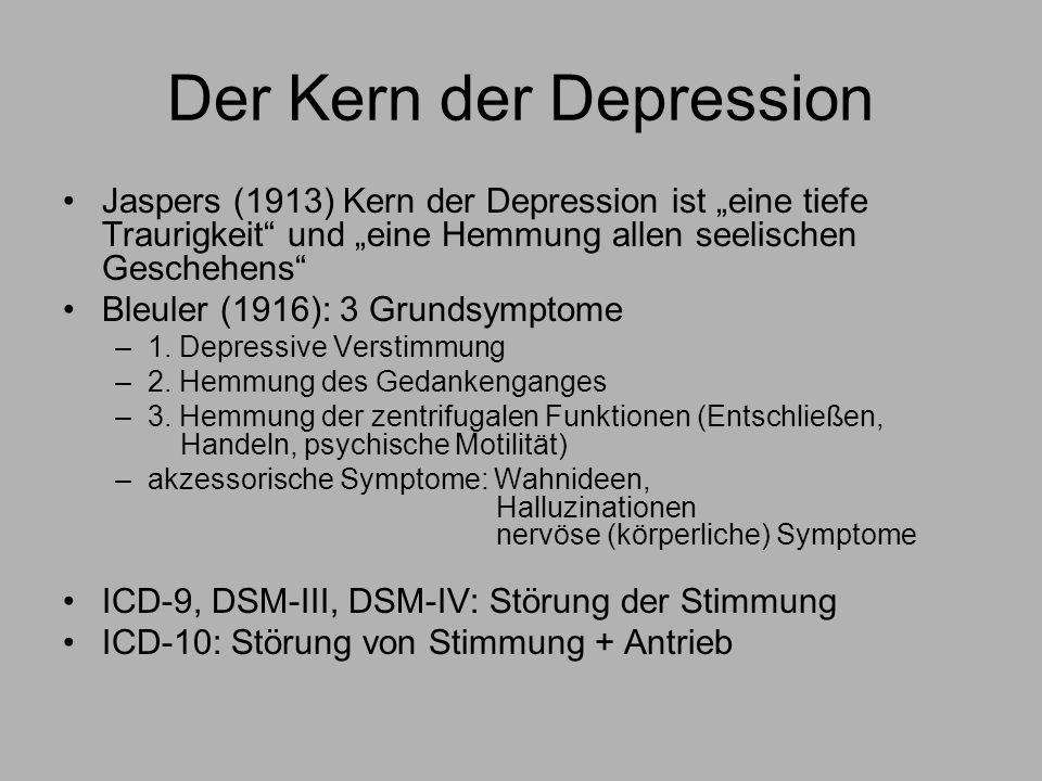Der Kern der Depression