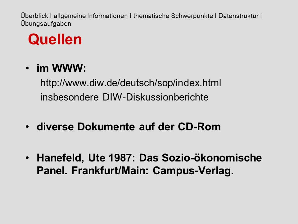 Quellen im WWW: diverse Dokumente auf der CD-Rom