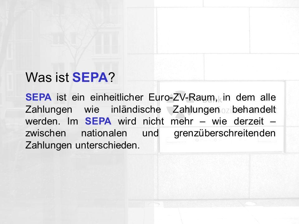 Was ist SEPA