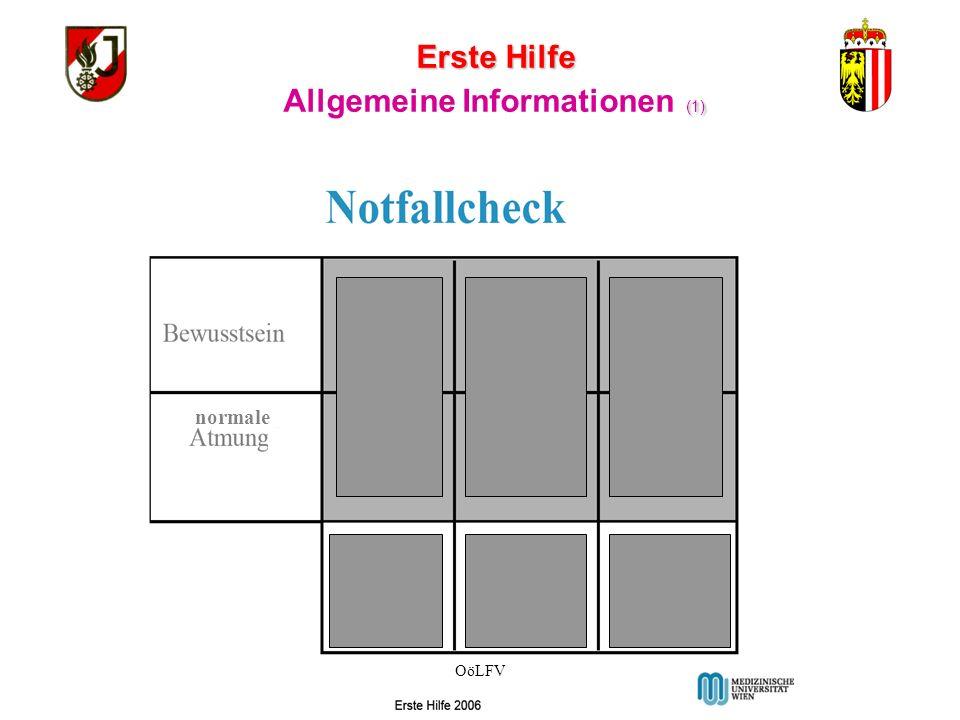 Allgemeine Informationen (1)