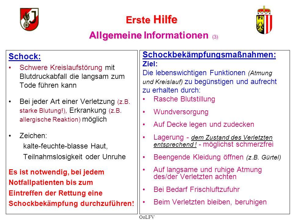 Erste Hilfe Allgemeine Informationen (3)