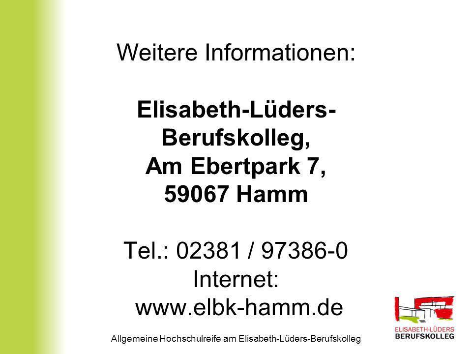 Elisabeth-Lüders-Berufskolleg,
