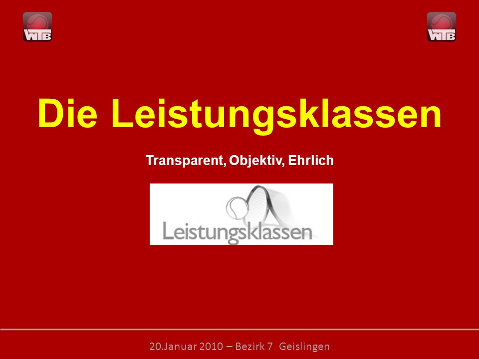 Transparent, Objektiv, Ehrlich