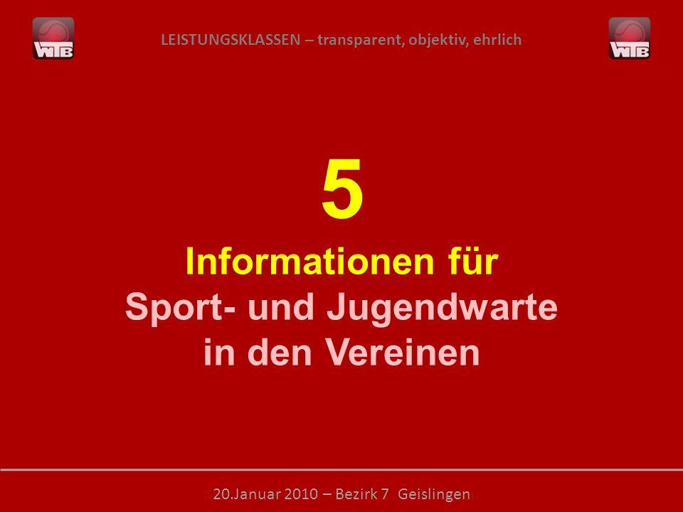 Sport- und Jugendwarte